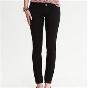 BANANA REPUBLIC Sloan Black Skinny Jean 0